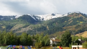 First Snow in Park City